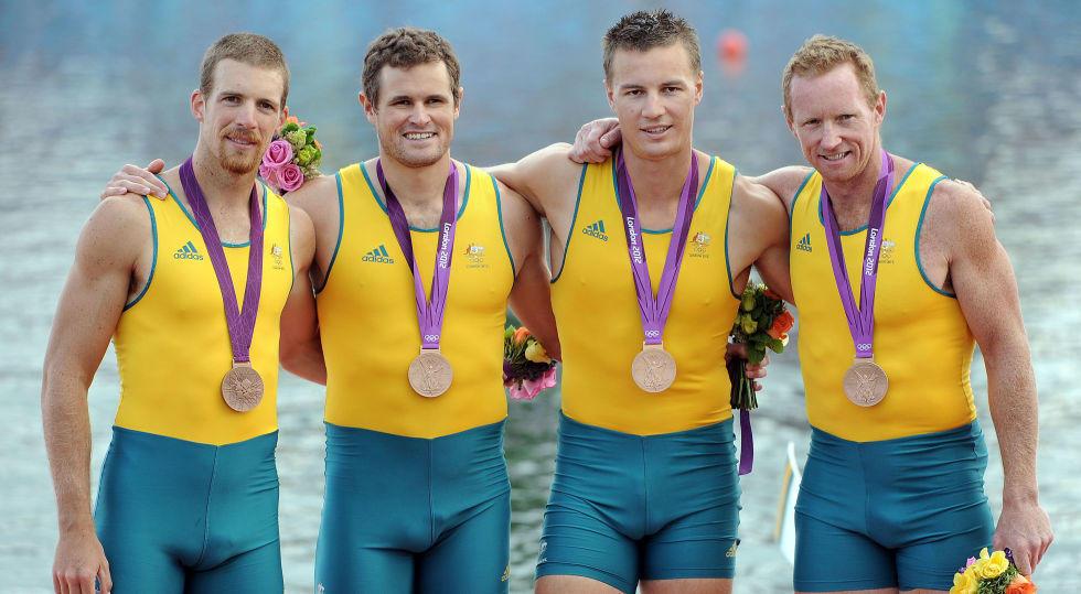 Équipe Aviron Australienne (Londres - 2012)