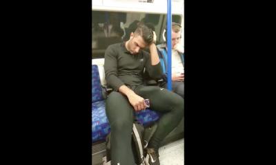 erection dans le metro