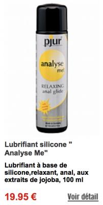 Meilleur lubrifiant anal ? - Accessoires lingerie, jouets